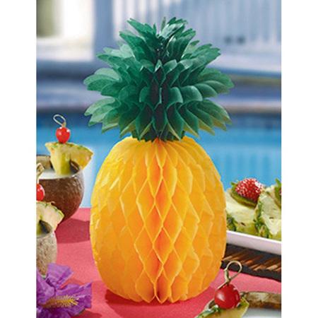 Pineapple honeycomb centrepiece