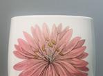 Pink and Blue Flower Porcelain Vase by Hutschenreuther