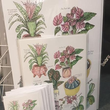 Pink Botanicals Edition 3 - Greeting Card