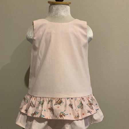 Pink Butterflies dress - Size 2