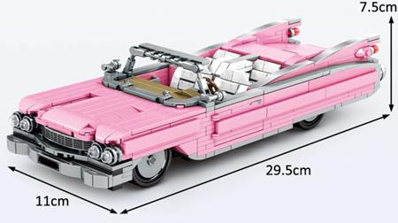 Pink Cadillac 726 Pieces