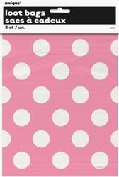 Pink Dots - Loot Bags x 8
