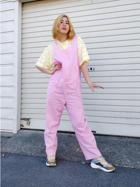Pink Dungarees