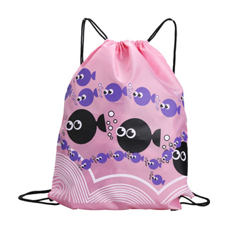 Pink Fish Swim Bag