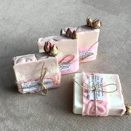 Pink Geranium Soap
