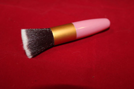 Pink & Gold Blush Brush