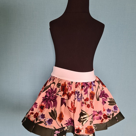Pink & Green Skirt Size 2-3