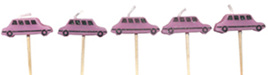 Pink Limousine Candles x  5