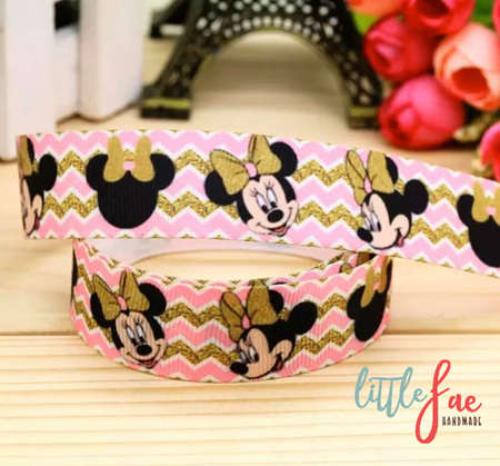 Pink Minnie Mouse Hair Bows