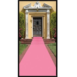 Pink Mock Carpet Runner