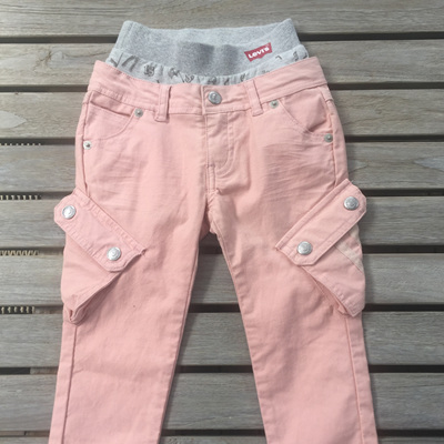 Pink/Peach cargo Levi Jeans