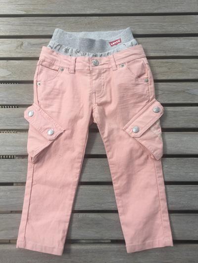 Pink/Peach cargo Levi Jeans