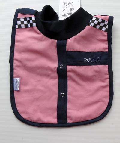 Pink Police Bib LP28