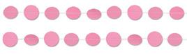 Pink Polka Dots Garland 2 x 1m