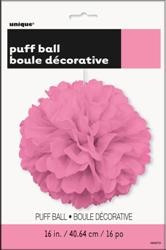 Pink Puff Decoration - 40cm