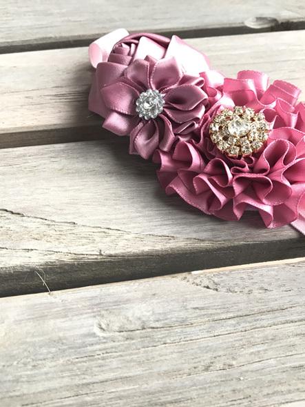 Pink/Purple headband