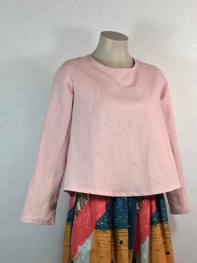Pink Saki top