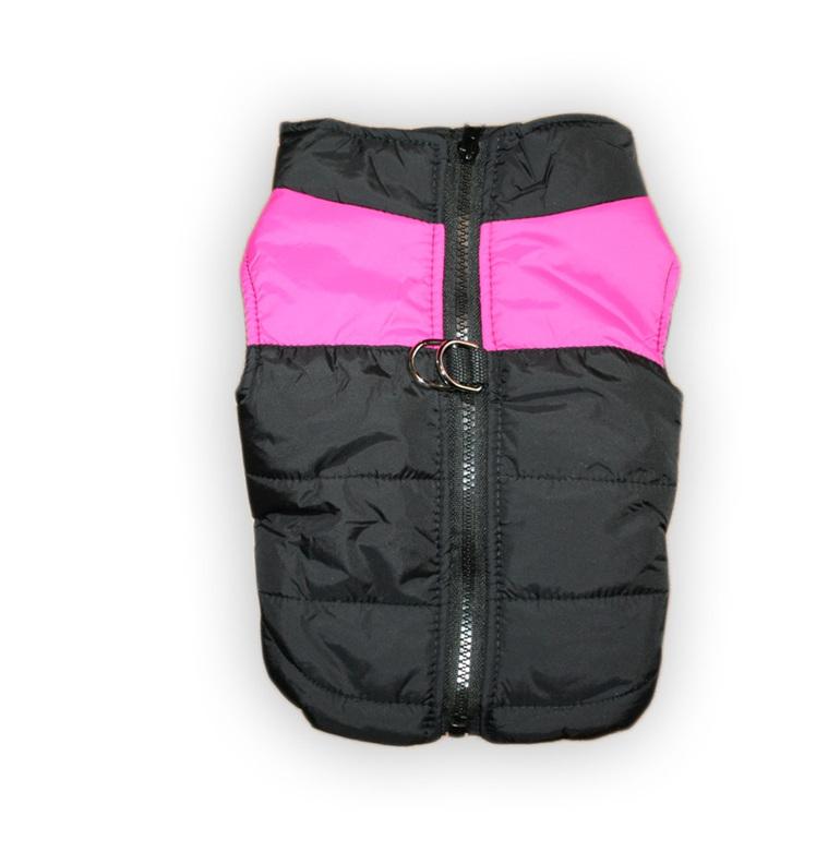 pink ski vest
