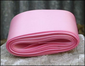 Pink Wedding Car Ribbon