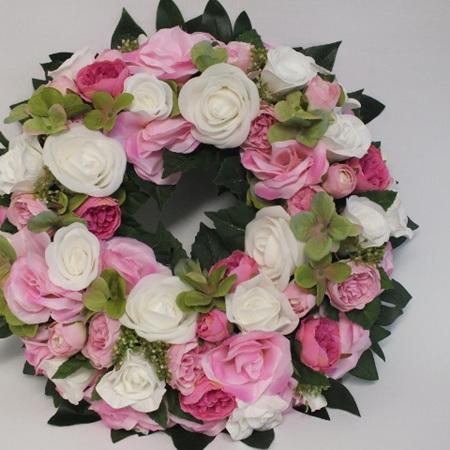 Pink wreath 2275