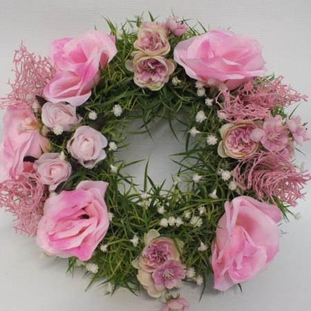 Pink Wreath 2294