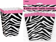 Pink Zebra - Treat Boxes