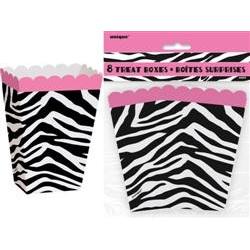 Pink Zebra - Treat Boxes