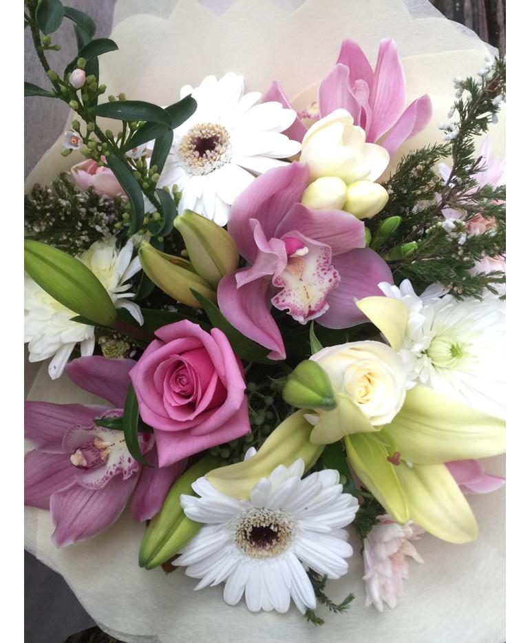 Pink/pastel tones Bouquet