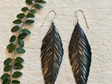 Pinned Earrings with Silver