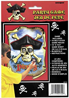 Pirate Fun Party Blindfold Game