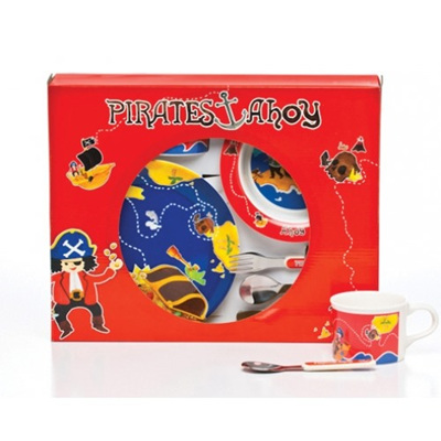 Pirates Melamine Dinner set