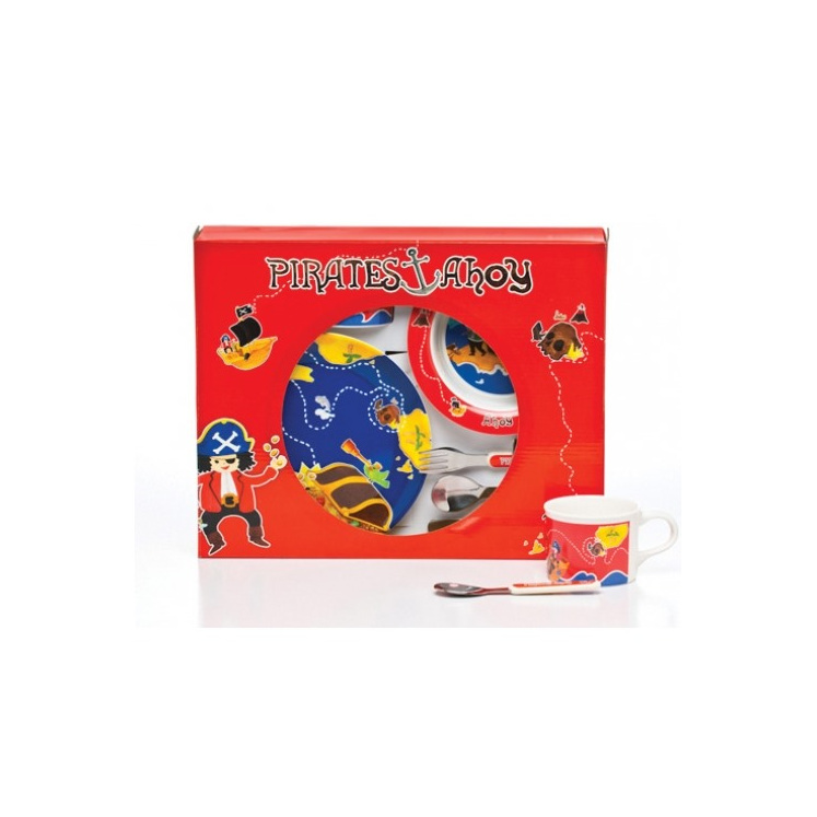 Pirates dinner set for kids