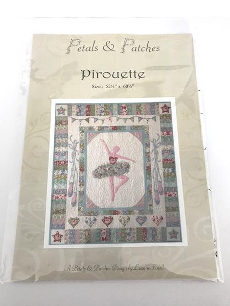 Pirouette Applique Quilt Pattern