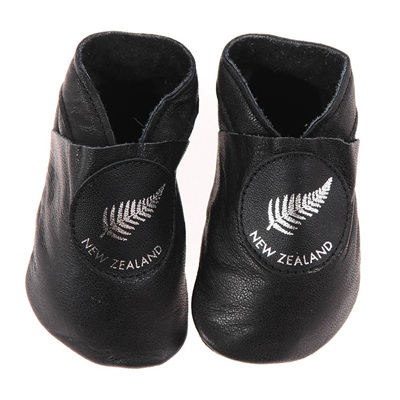 Pitter Patter Booties - Silver Fern