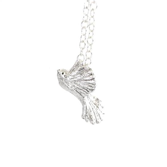 Piwakawaka Bird Necklace