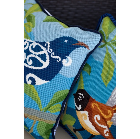 Piwakawaka Fantail Needlepoint Kit
