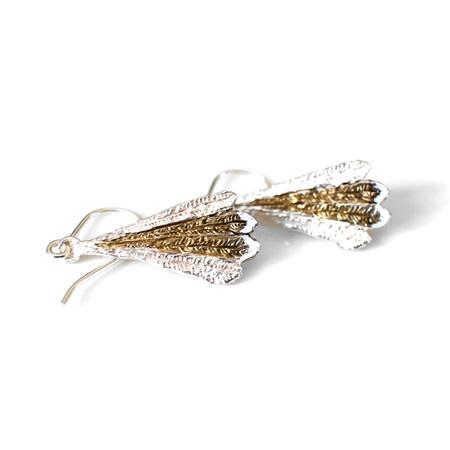 Piwakawaka Feather Earrings