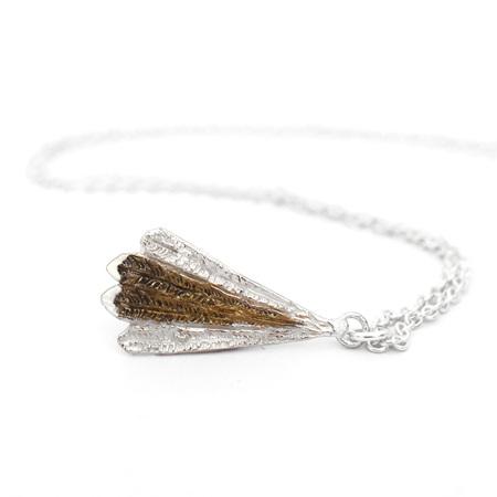 Piwakawaka Feather Necklace