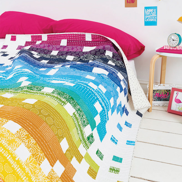 Pixelated Quilt Pattern