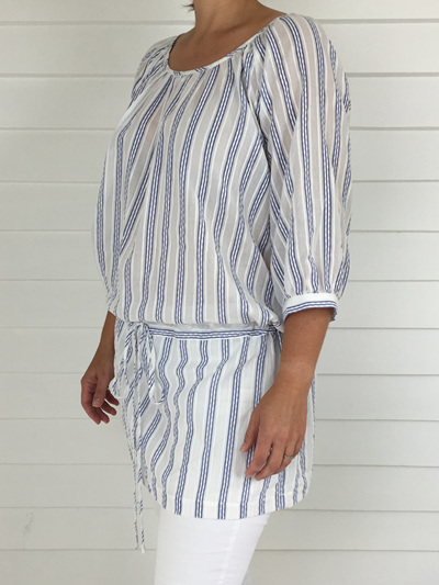 Pixie Top Stripe