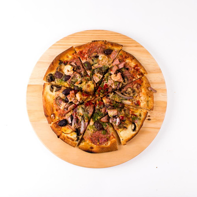 Pizza Board Round