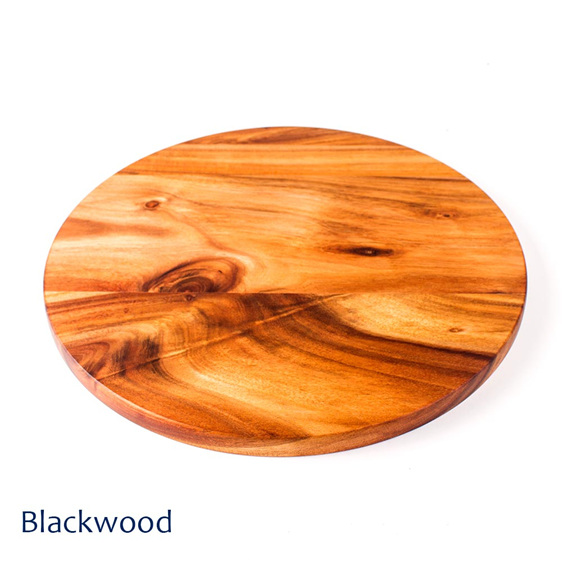 Pizza Board Round - 345mm - Blackwood - New Zealand made