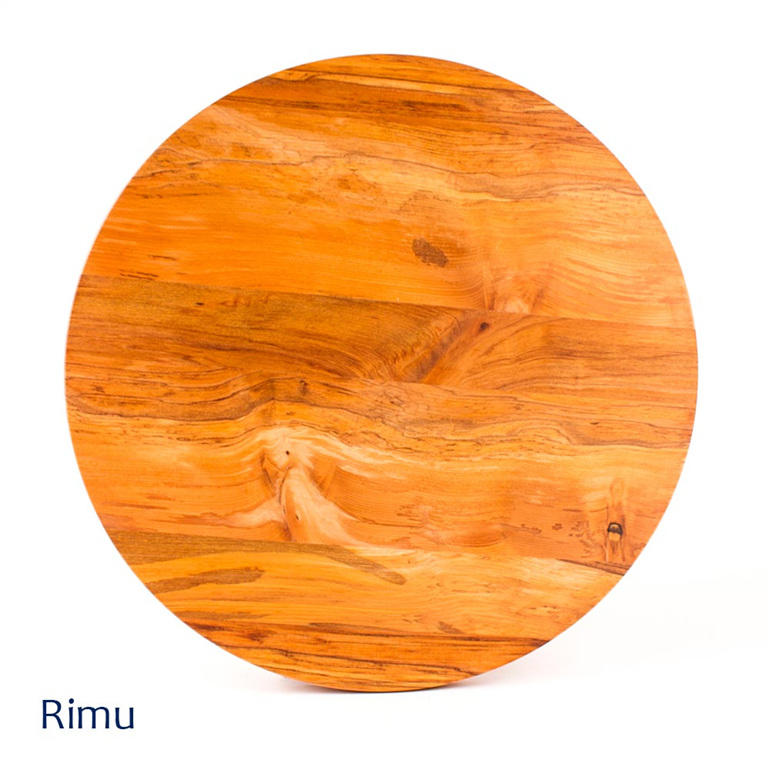 Pizza Board Round - 375mm - Rimu - Made in New zealand