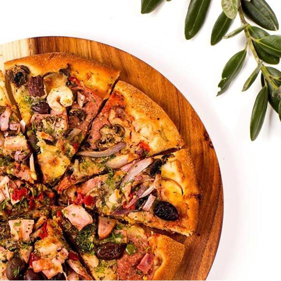 Pizza Board Round