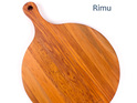 pizza board with handle heart rimu