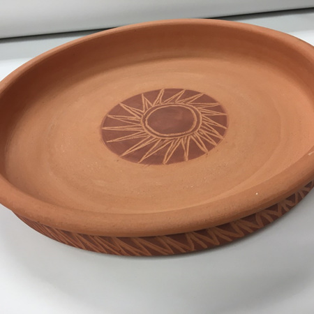Pizza Dish - Terracotta Cookware