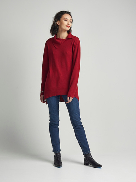 PJ Jeans Cinema Sweater - Garnet
