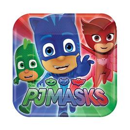 PJ Mask plates x 8