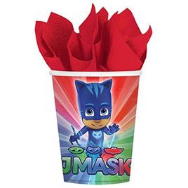 Pj Masks cups x 8