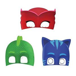 PJ Masks masks x 8